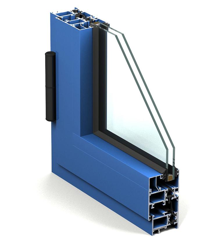 Ventana de aluminio practicable confort con rotura de puente t rmico ventanas de aluminio - Aluminio con rotura de puente termico ...